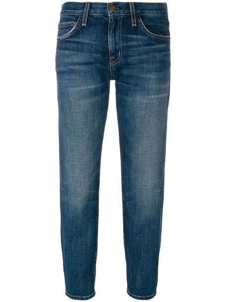 Current/Elliott jeans cropped women cotton blue 24