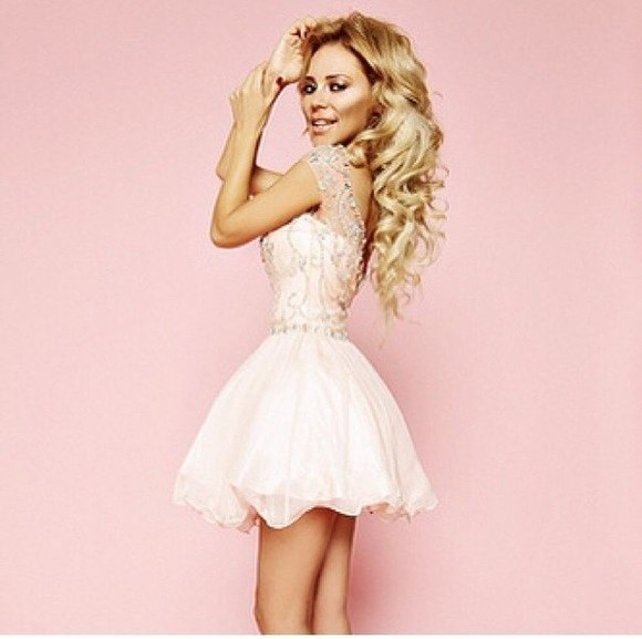 dress tutu white glitter promdress