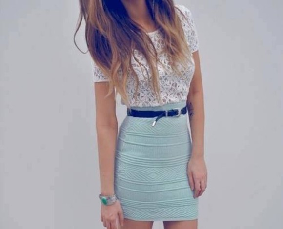 skirt blue skirt pencil skirt bodycon dress midi skirt knee length blue pattern pattern dress clothes t-shirt