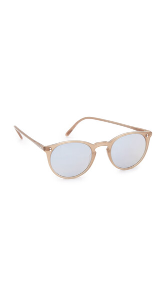 sunglasses blue brown taupe