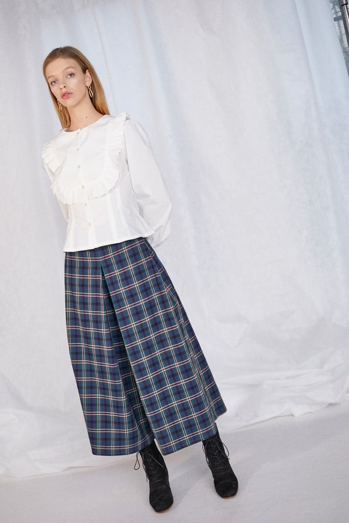 SUN PANT in CHELSEA PLAID NAVY