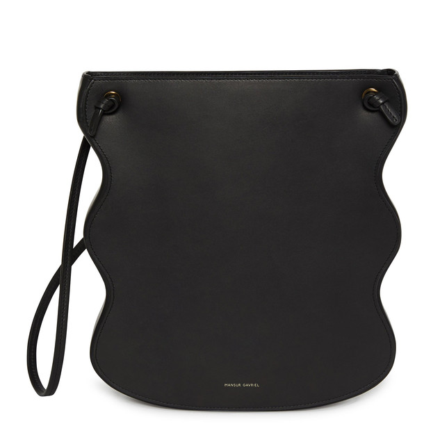 Mansur Gavriel Vegetable Tanned Ocean Bag - Black