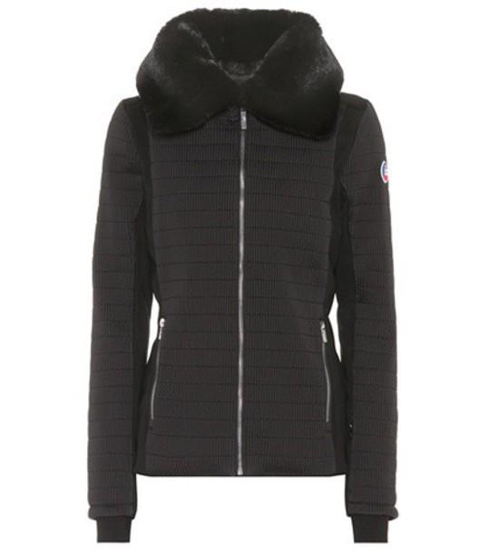 Fusalp jacket fur black