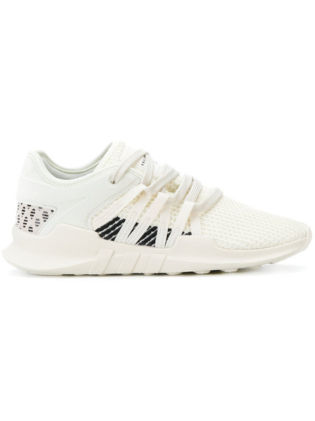 Adidas women spandex sneakers white neoprene shoes