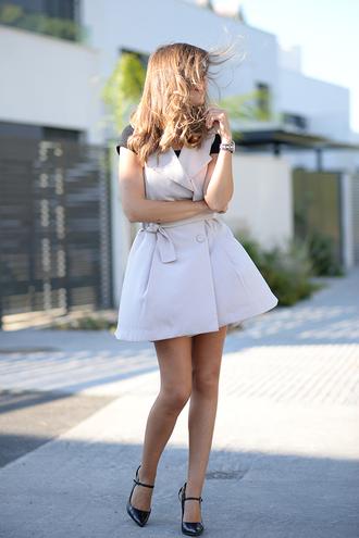 mi aventura con la moda blogger dress top bag shoes