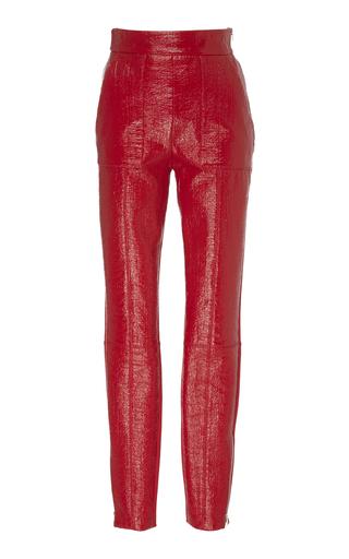 Slim Jersey-Leather Pants by David Koma | Moda Operandi