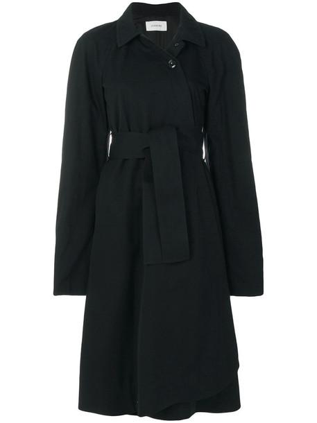 Lemaire coat women cotton black