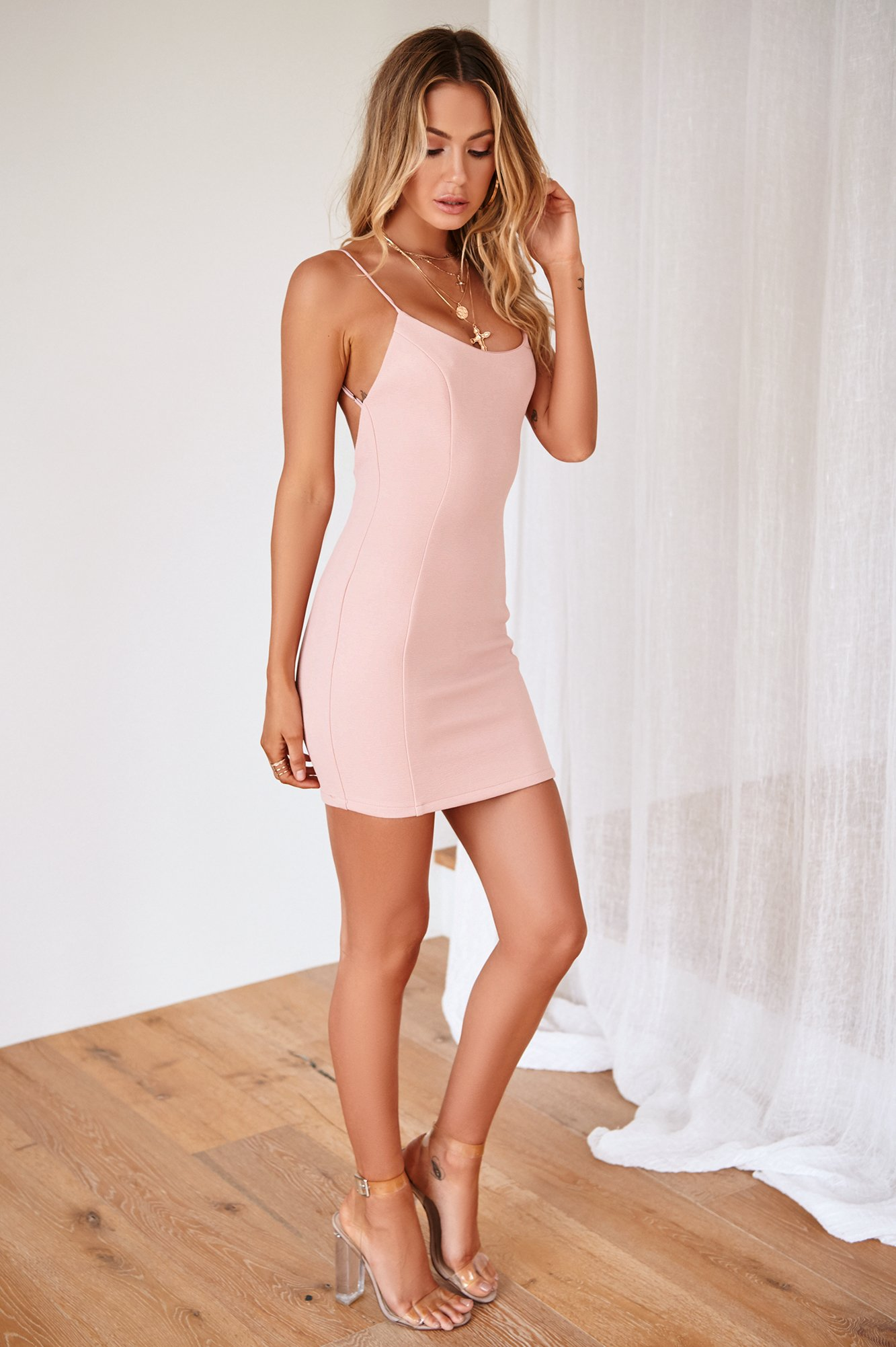 All About You Dress (Blush)