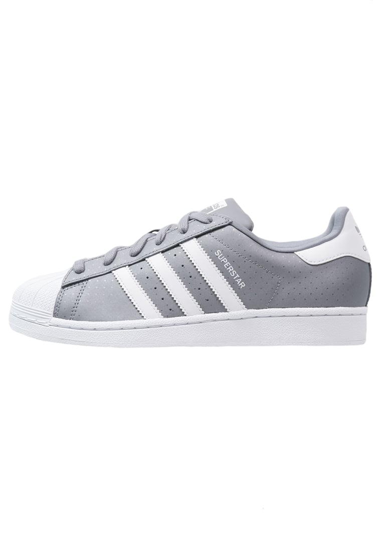 adidas originals superstar sneaker low grey white. Black Bedroom Furniture Sets. Home Design Ideas