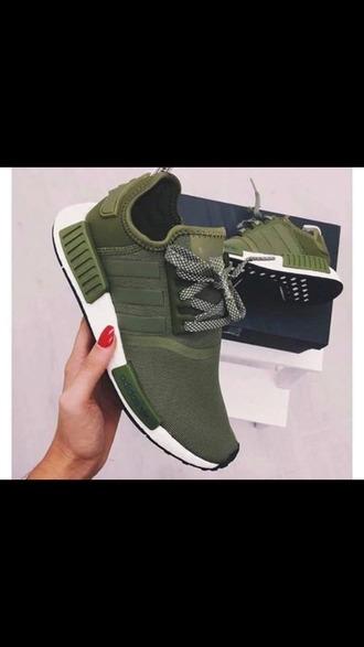 shoes green adidas