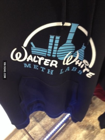 disney Breaking Bad walter white sweat meth labs