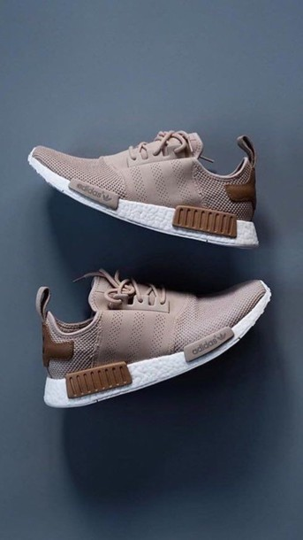 548212c1e32f shoes adidas nude brown shoes nmd adidas nmd adidas