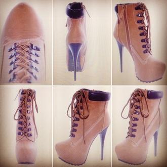 shoes timberlands timberland timberland boots shoes timberlands boots ankle boots tan boots camel boots platform lace up boots