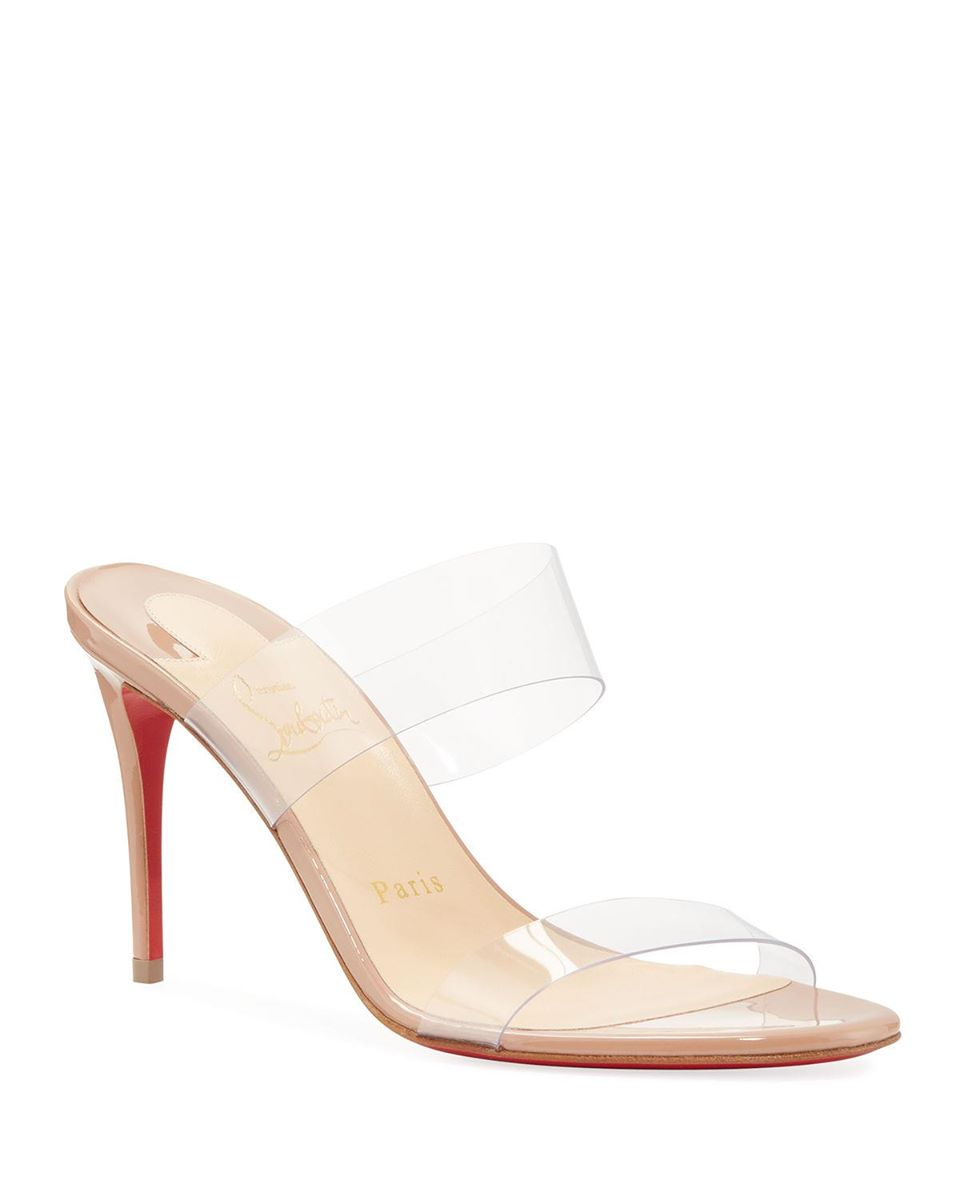 Just Nothing Illusion Red Sole Sandals