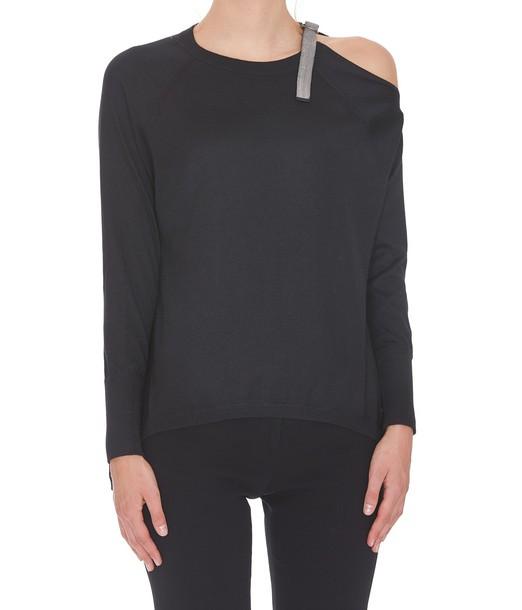 BRUNELLO CUCINELLI sweater black