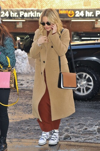 dress knitwear coat kate hudson shoes boots