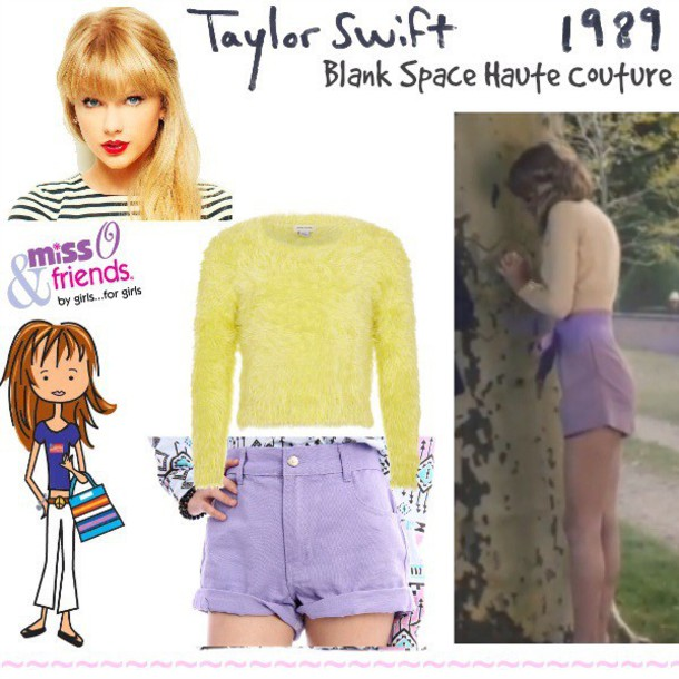 shorts taylor swift