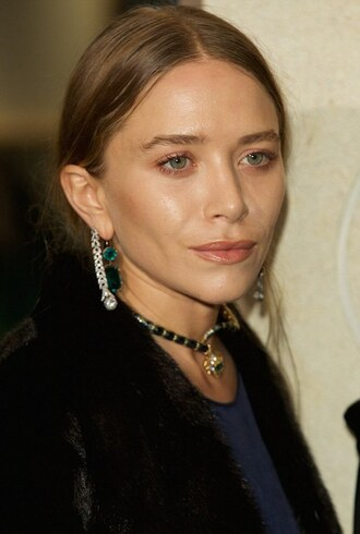 jewels earrings mary kate olsen diamonds