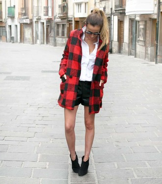 rebel attitude blogger coat flannel