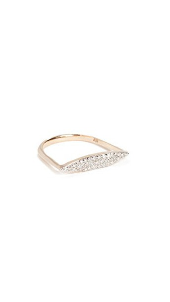 Adina Reyter ring gold yellow jewels