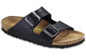 Arizona Black Oiled Leather Sandals | Birkenstock USA Official Site