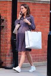 dress,pippa middleton,midi dress,spring outfits,spring dress,maternity dress
