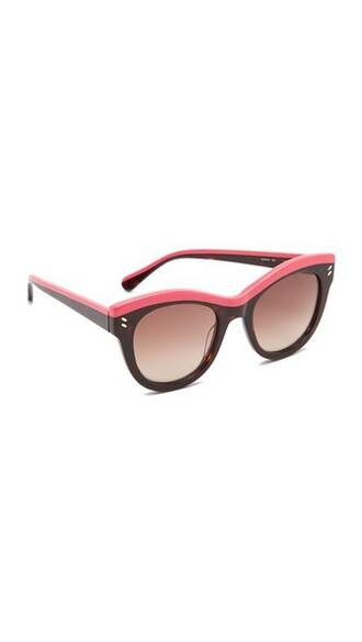 sunglasses pink brown bright