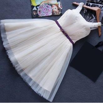 dress white white dress short fashion