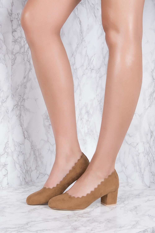 NA-KD Shoes Scalloped Edge High Heel