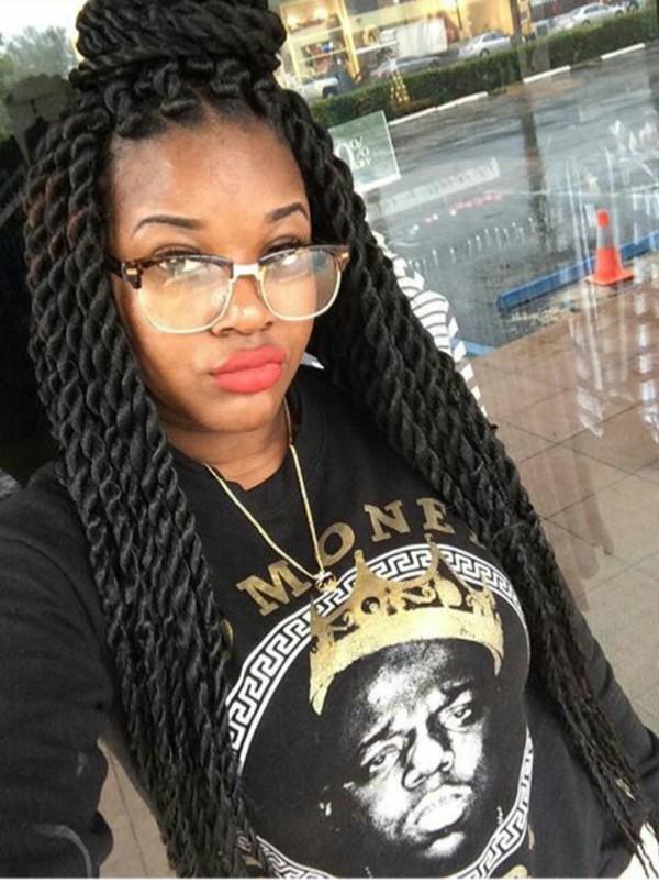 Sweater Cute Pretty Biggie Smalls Sweatshirt Glasses Lipstick