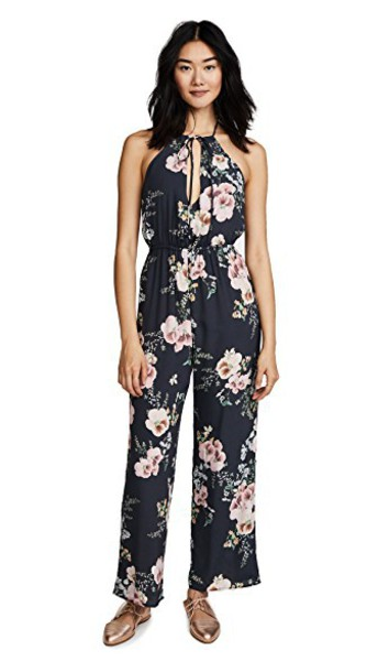 Roe + May jumpsuit print