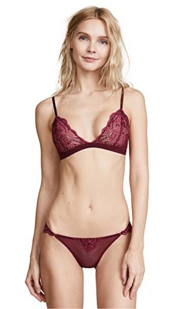 Heidi Klum bra soft black underwear