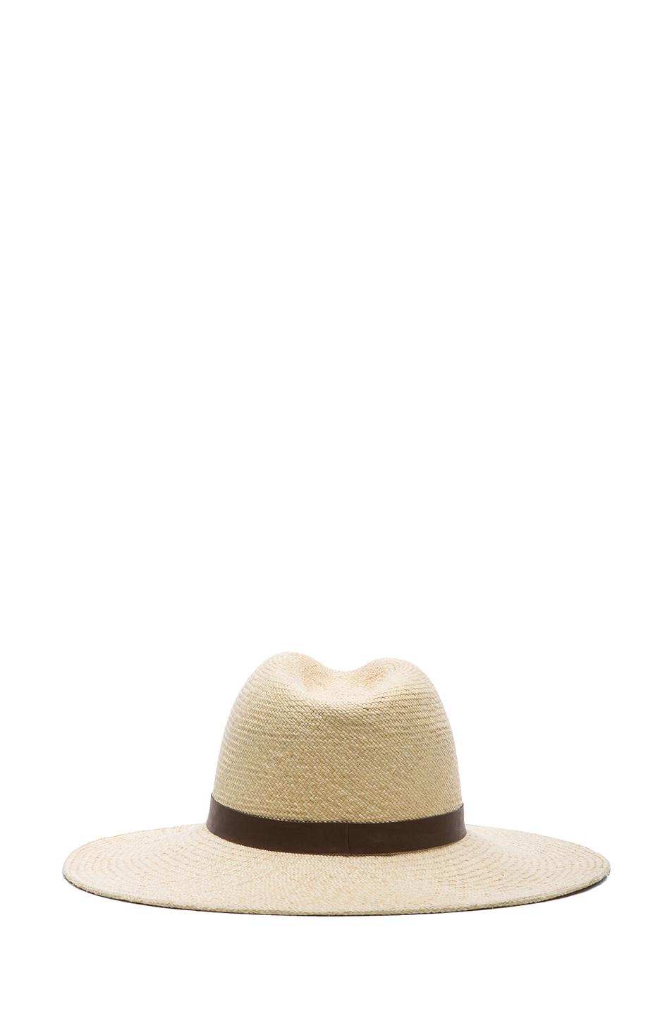 Janessa Leone | Gloria Straw Hat in Creme