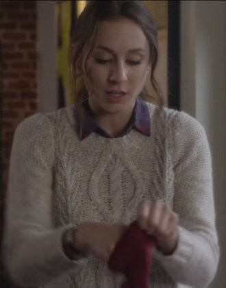 sweater troian bellisario pretty little liars spencer hastings cable knit