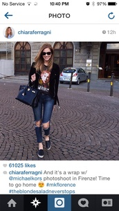 jeans,chiara ferragni,rip jeans,ripped jeans,denim,ripped denim