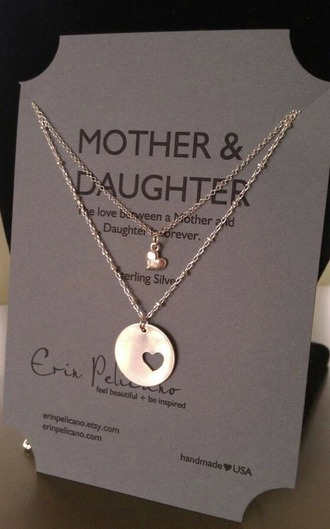jewels accessories mother and child present presents ideas necklace mothers day gift idea