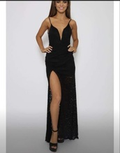 dress,long dress,long evening dress,long prom dress,black dress,party dress,sexy party dresses,slit dress,black prom dress,graduation dress,evening dress,maxi dress,classy dress,elegant dress,birthday dress,wedding clothes,wedding guest,homecoming,homecoming dress,formal,formal dress,formal event outfit,romantic dress,romantic summer dress,summer holidays,holiday dress,holiday season,plunge v neck,plunge dress,mermaid prom dress,mermaid