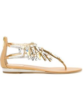 sandals flat sandals nude shoes