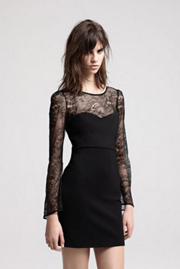 dress maje fashion lookbook