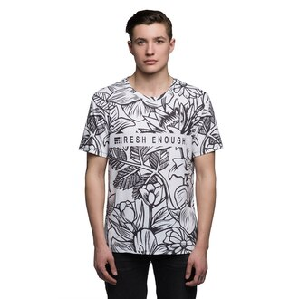 t-shirt menswear floral floral tee mens t-shirt printed t-shirt full print t-shirt all over print t-shirt floral t shirt