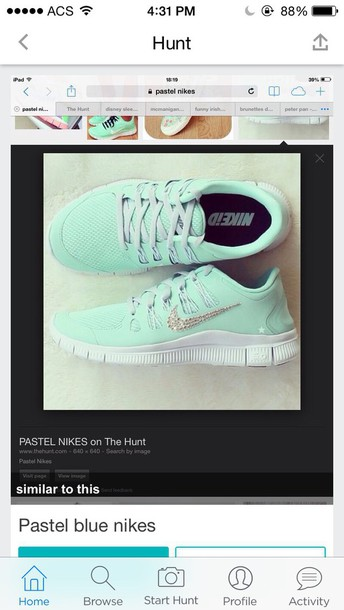 shoes mint green nikes