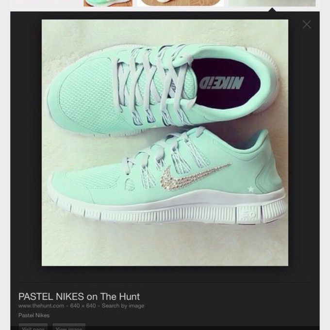 shoes mint green nikes shoes green