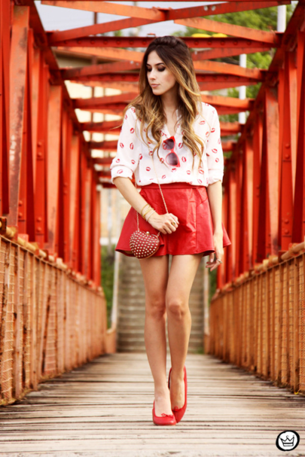 fashion coolture shirt skirt bag
