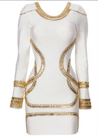 Hot Selling Kim Kardashian Style In Sass Bide Embellished Jersey White Bandage Dress H313,Celebrity Dress ! Dropshipping - Buy Kim Kardashian Bandage Dress,Prom Dress,Cocktail Dress Product on Alibaba.com