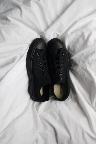 shoes converse black shoes all star