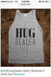 tank top,hug dealer
