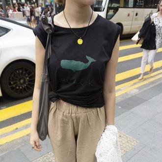 top black japan streetwear it girl shop