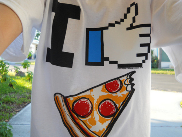 t-shirt pizza like shirt