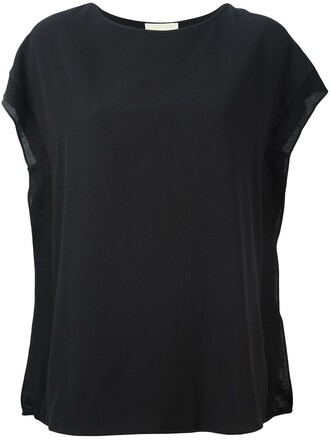 t-shirt shirt basic women spandex cotton black top
