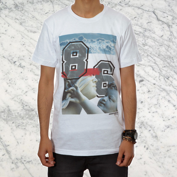 t-shirt kanye west yeezy swag dope streetwear hype statue print supreme